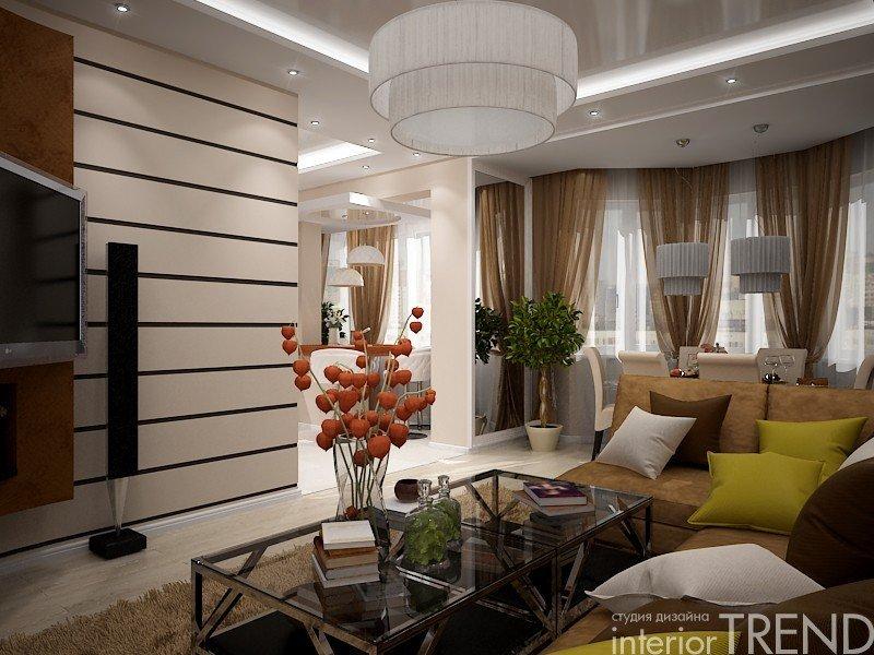 "Дизайн четырехкомнатной квартиры студии"" - карточка пользова."