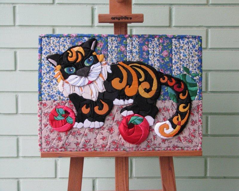 Картинки яркий кот