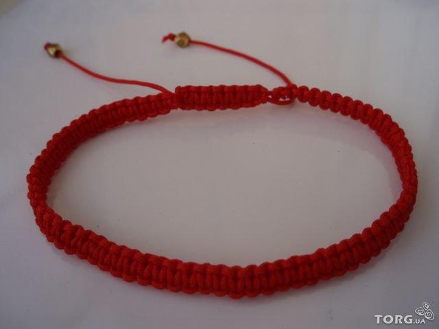 красный браслет своими руками из ниток карточка пользователя