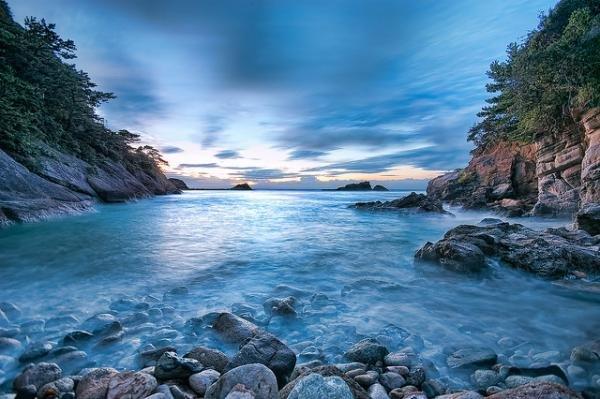 Красивые и оригинальные морские пейзажи от талантливого японского фотографа, специализирующегося на съемке океана и морей, Tommy Tsutsui.