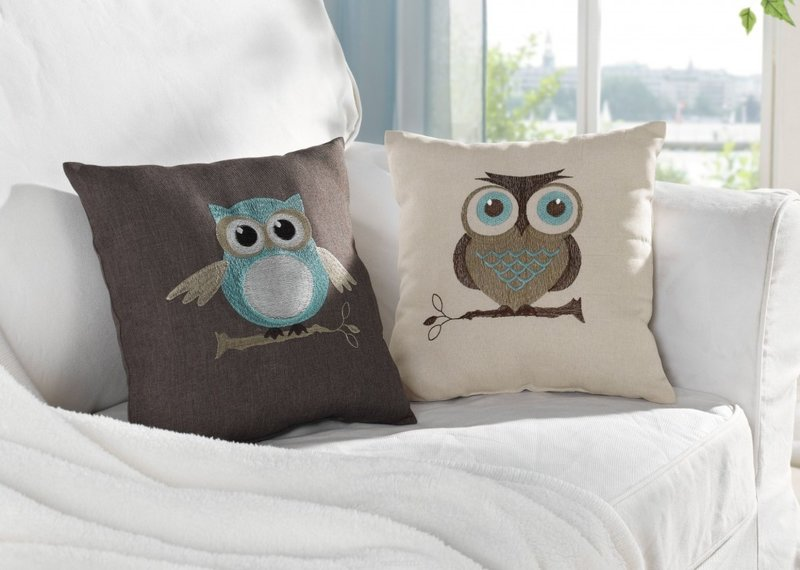 Как сшить оригинальную подушку своими руками