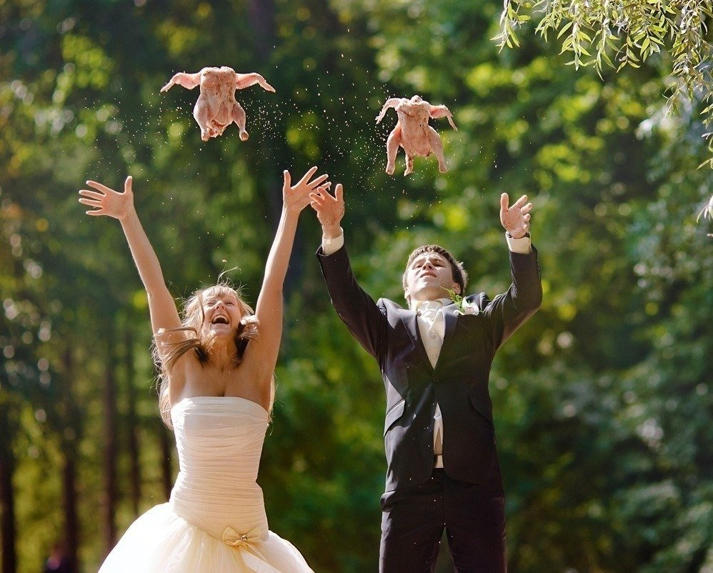 Картинки прикольные свадебные