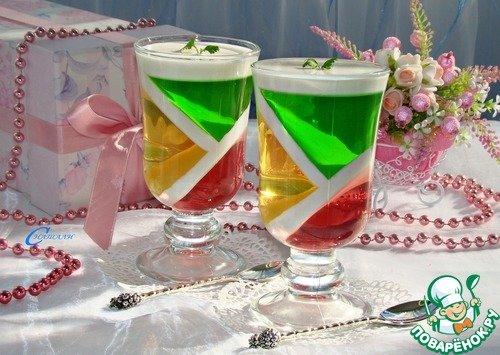 Кулинарный рецепт Десерт фруктовый