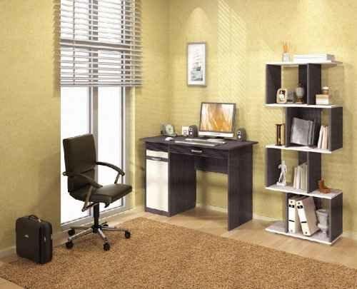 один из самых главных аспектов в оформлении домашнего офиса – это освещение.