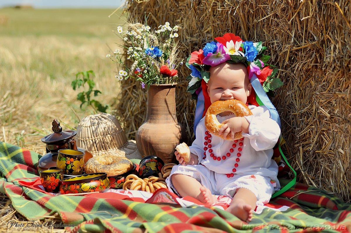 Картинка с днем рождения в русском стиле