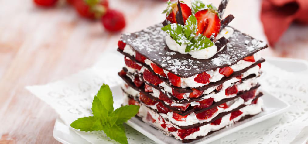 Десерт торт с фото