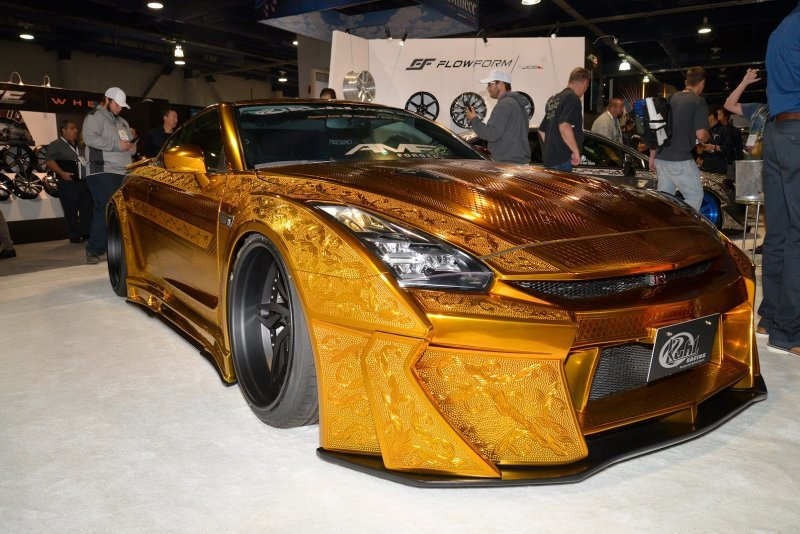 Картинки золотистые красивые автомобиль