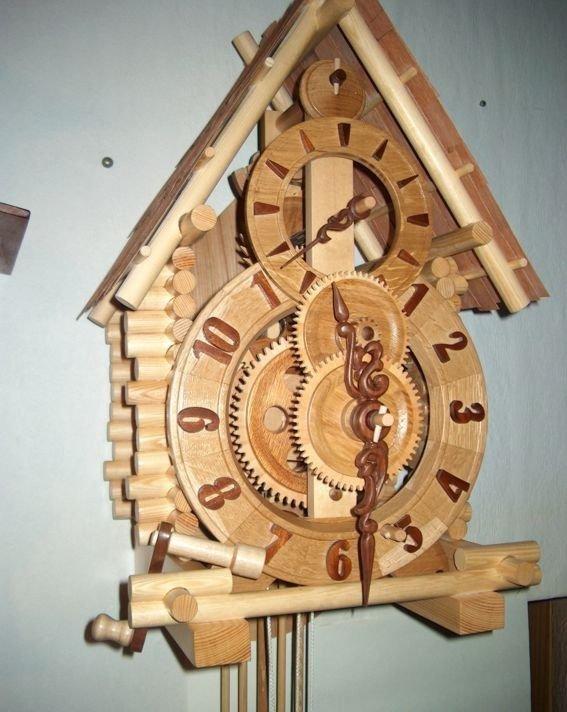 Механические часы из дерева своими руками фото 635
