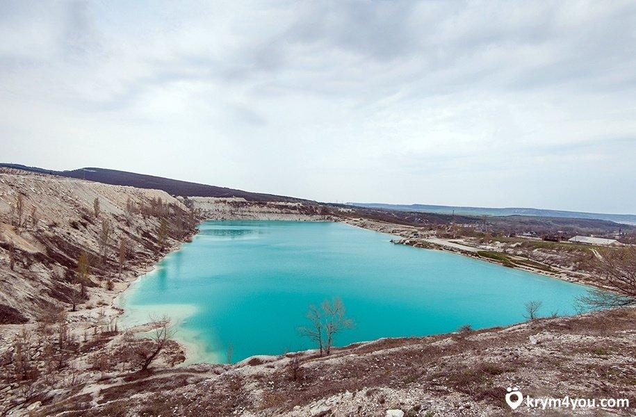 Мраморное озеро крым