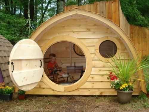 Проект детского домика для дачи своими руками