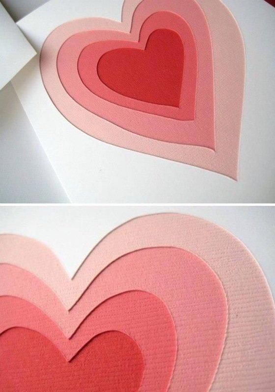 Февраля, открытка в форме сердца своими руками