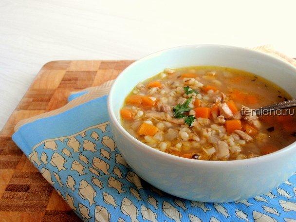 Вкусный перловый суп рецепт с фото