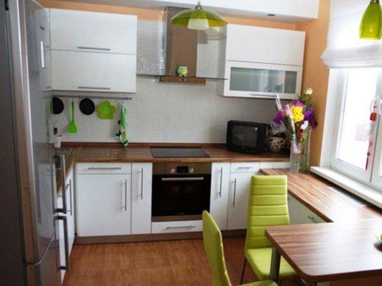 Большинство современных квартир имеют маленькие кухни. согла.