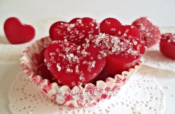 мармелад сердечки рецепт