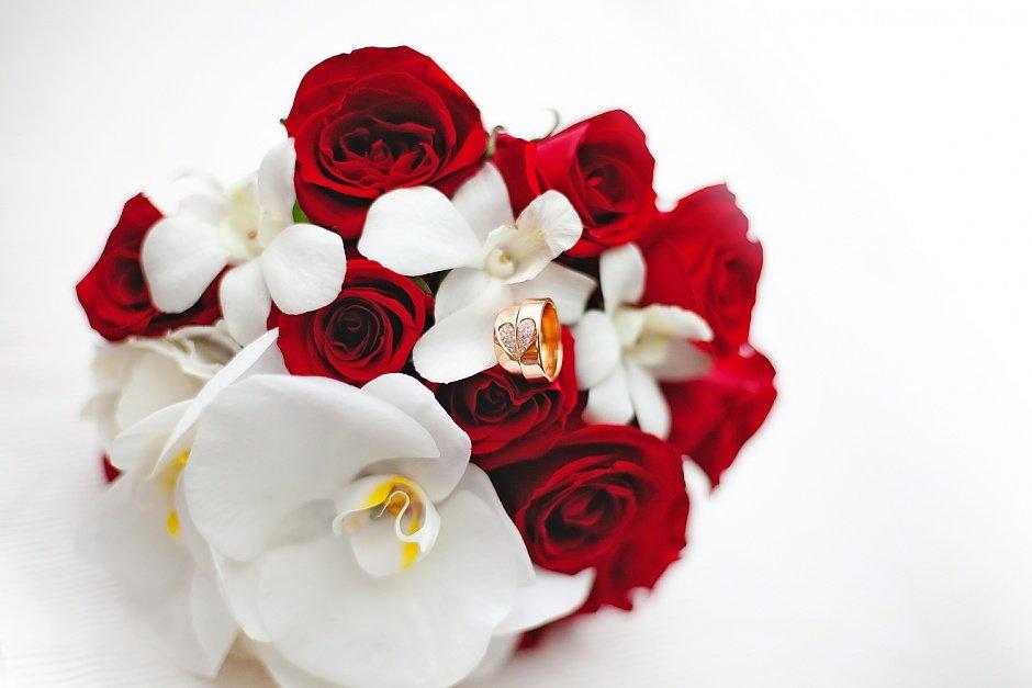Букет красные орхидея фото, букеты
