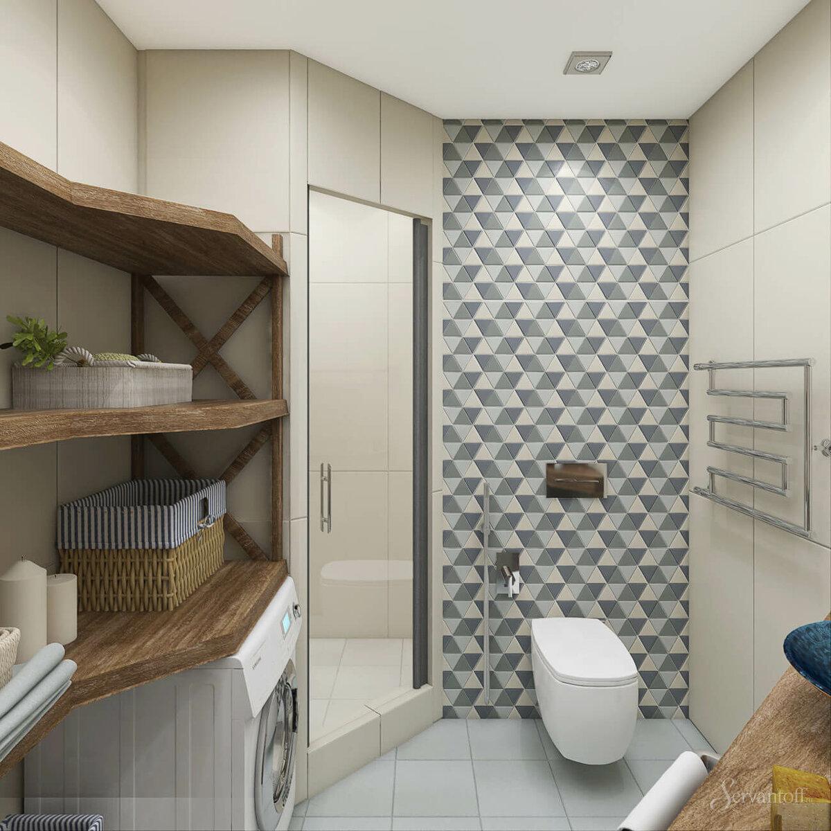дизайн ванны в скандинавском обратите внимание
