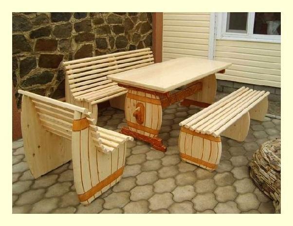 Мебель своими руками из рейки