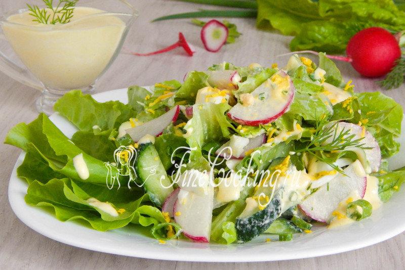 Очень простые салаты с фото