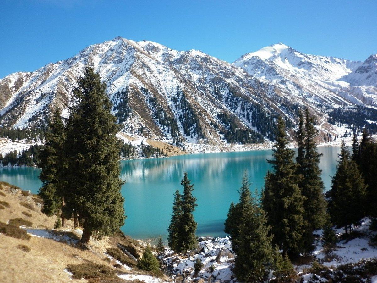 Горы заснеженные картинки
