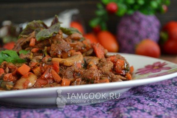 Кулинария с фото рецептами постных блюд