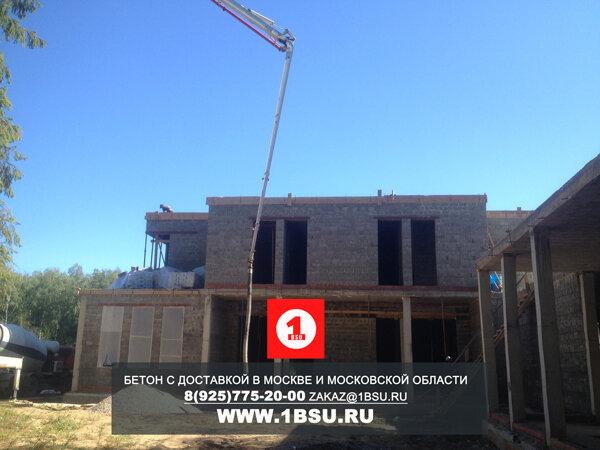 подача бетононасосом бетона м400 в Одинцовском районе