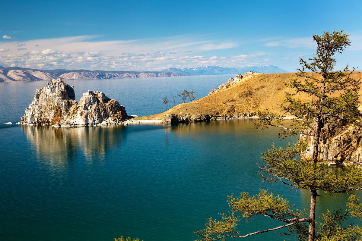 Байкал озеро видео