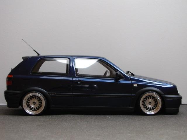 BBS RM на масштабной модели VW Golf III