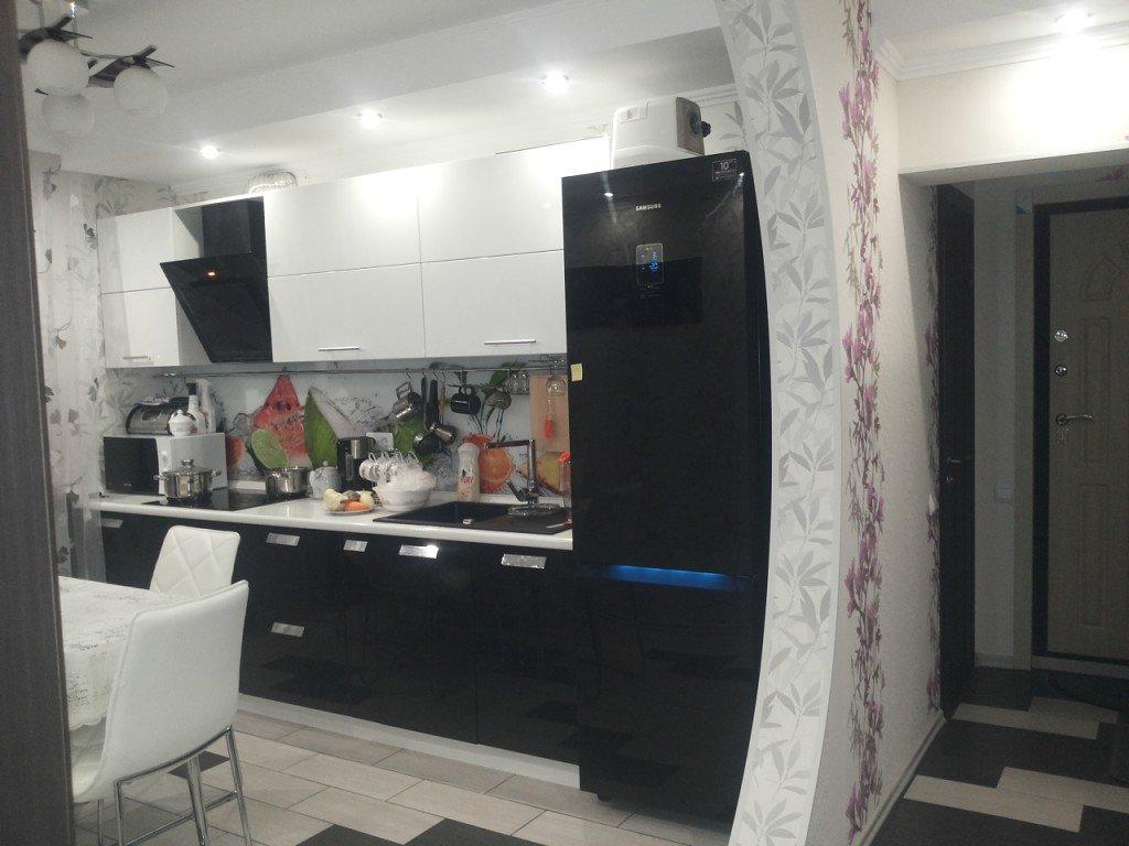 неё кухни с черными холодильниками фото интересное то, что