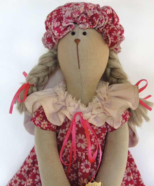 Кукла девочка кролик тильда