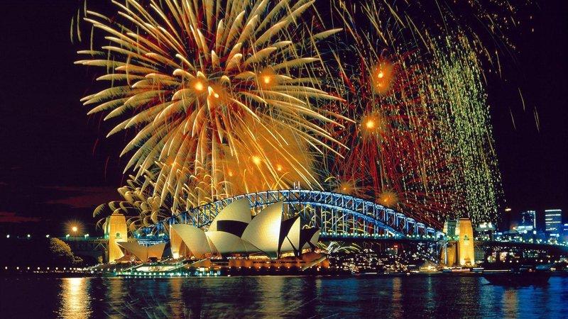 Достопримечательности на Новый год, Сидней