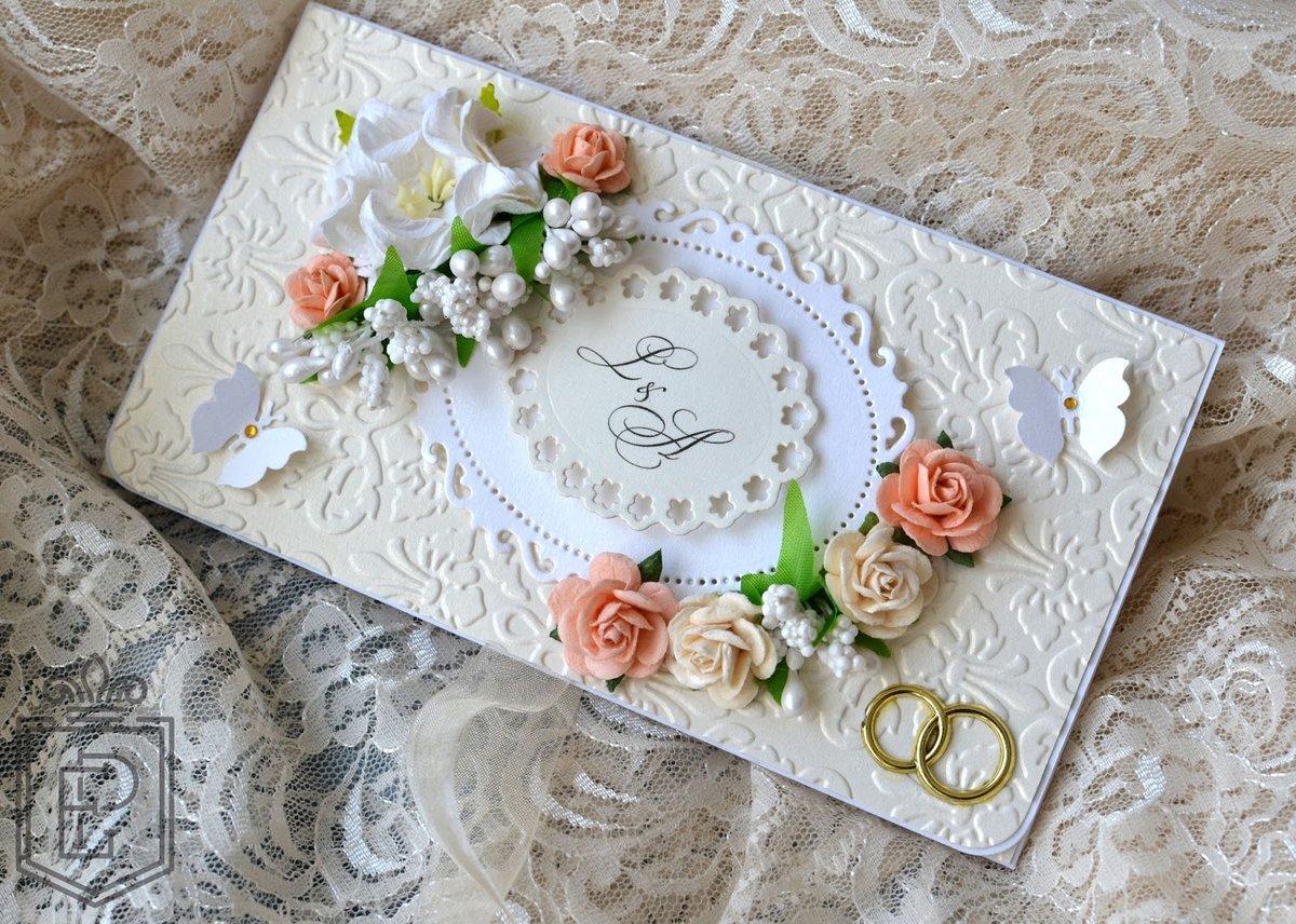 для свадебная открытка и конверт своими руками мастер класс развитие паровых