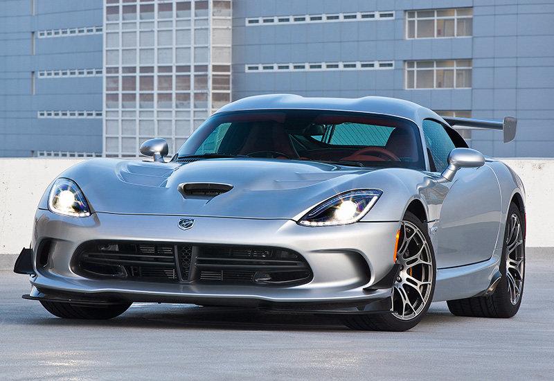 2015 год выпуска. Суперкар Dodge Viper GTC TA 2.0 Package
