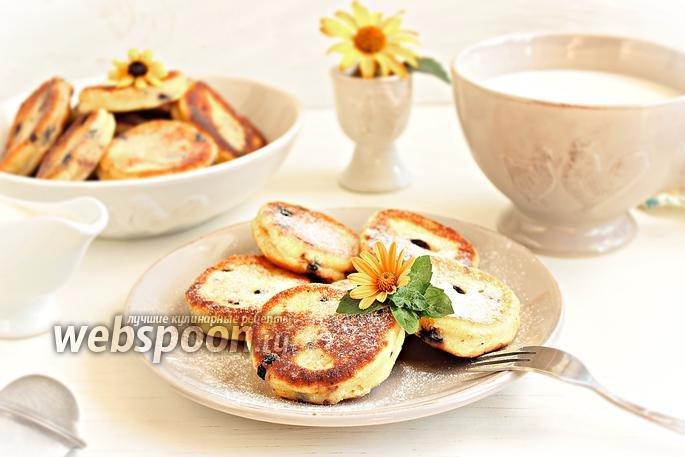 Сырники с черникой рецепт с фото