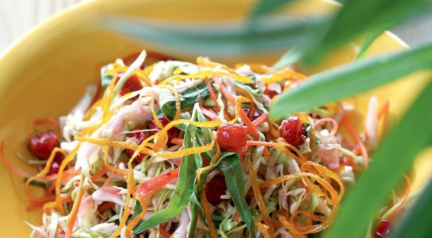 салат диетический с капустой