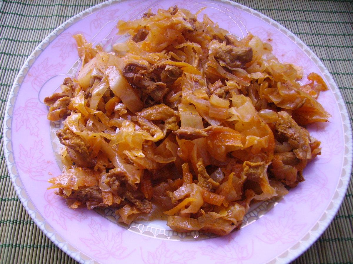 солянка в мультиварке рецепт из капусты с грибами