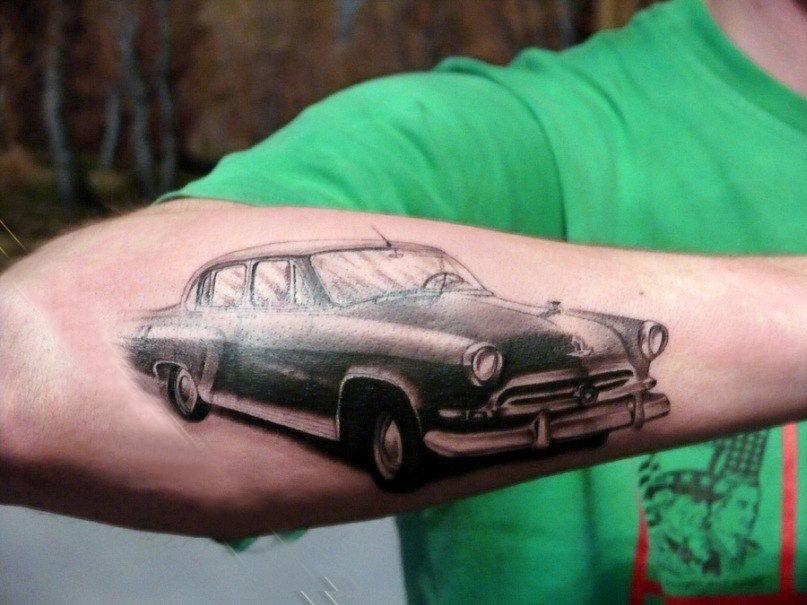 картинки татуировок с машинами вот совсем