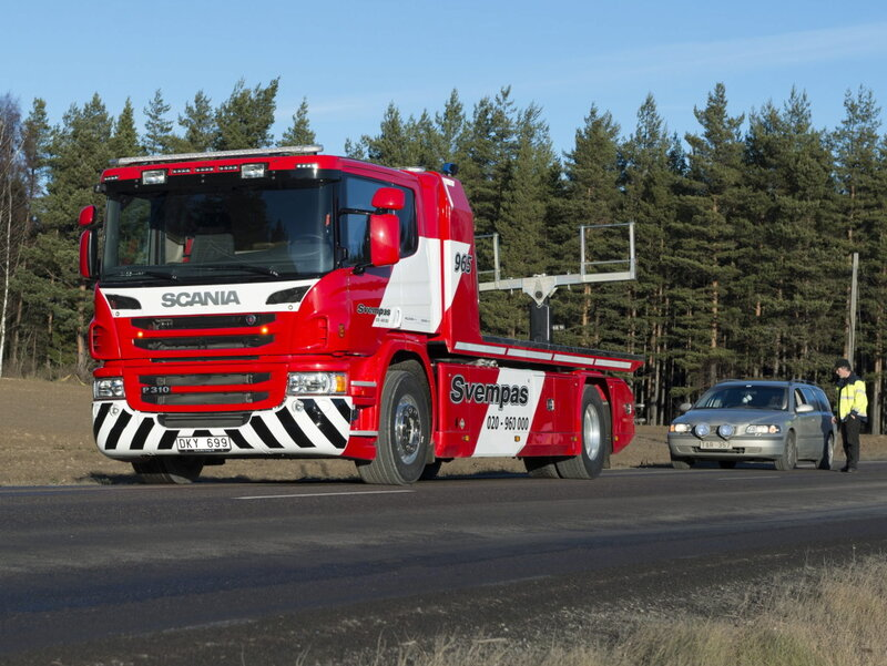 Scania P310 4×2 Recovery Vehicle