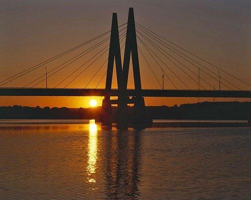 Фото Моста Миллениум в Казани