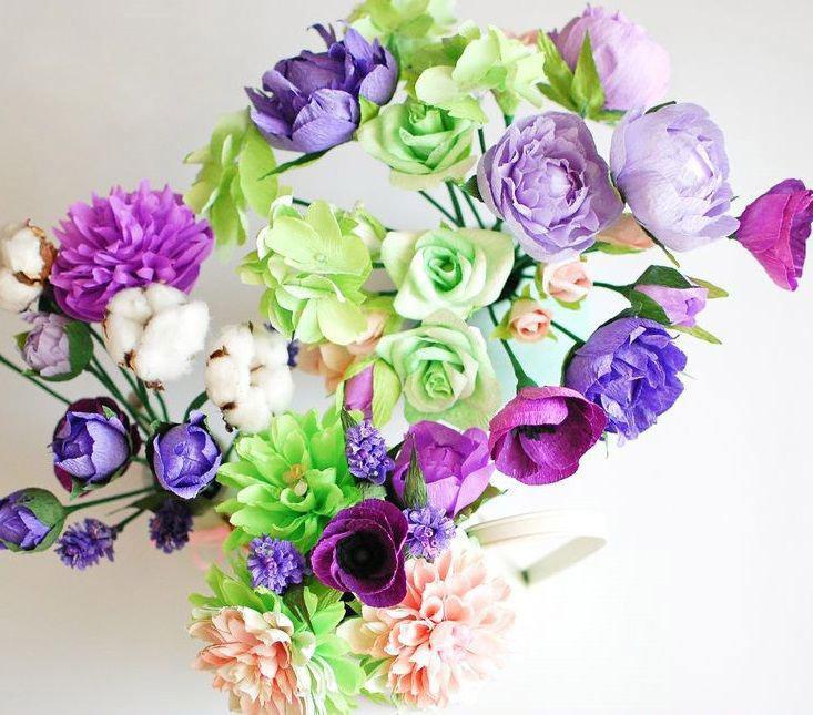 Юбилею мужчине, картинки букет цветов своими руками
