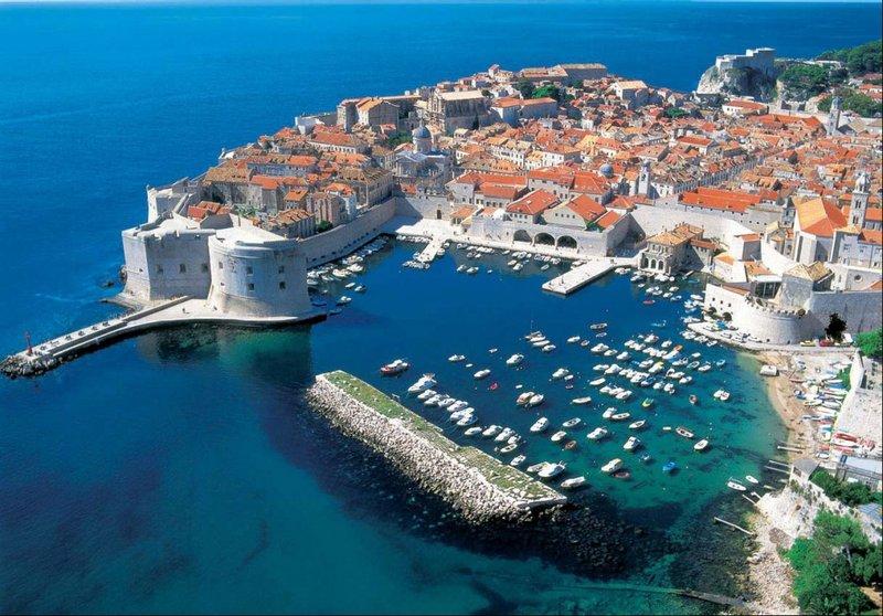 Стены старого города, Дубровник, Хорватия