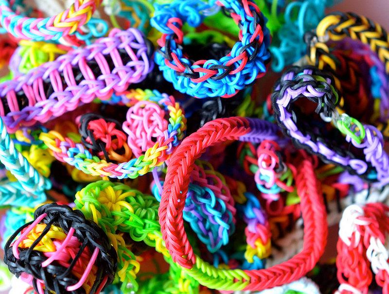 Картинка плетение из резинок