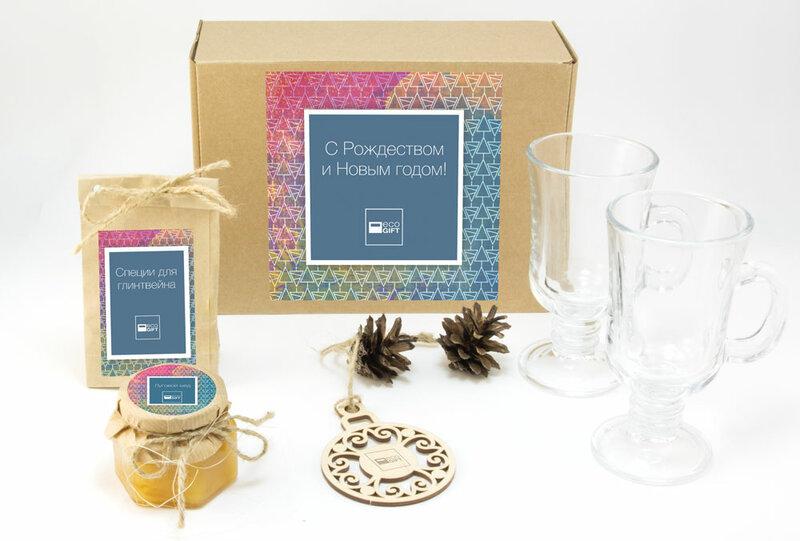 Новогодние наборы для глинтвейна «Craft Glintwine» Наборы для глинтвейна которые мы рекомендуем для дарения большому количеству клиентов или сотрудников Вашей компании на Новый год Отличительные особенности наборов для глинтвейна Craft Основной материал оформления - крафт-картон и