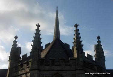 пламенеющая готика замок