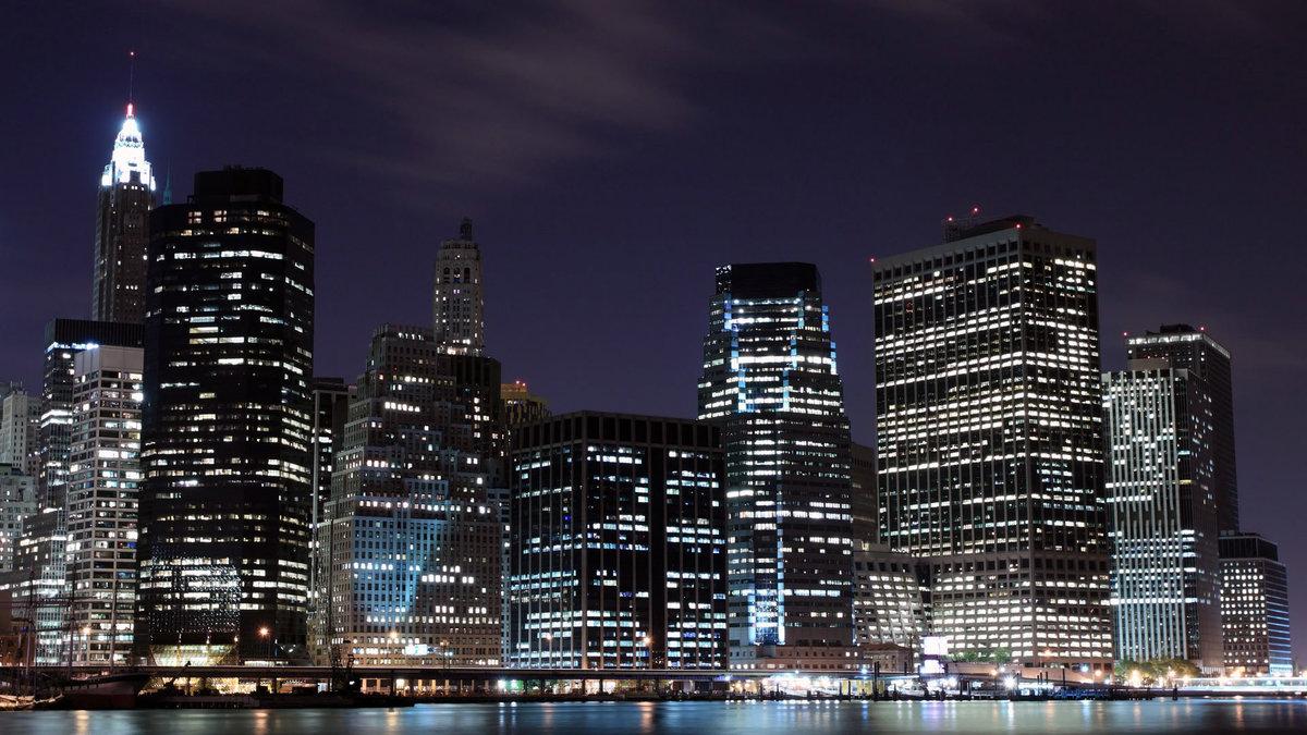 Картинки нью-йорка ночью