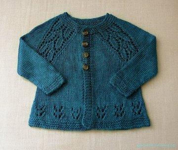 вязание спицами для детей описание вязания детской кофточки спицами