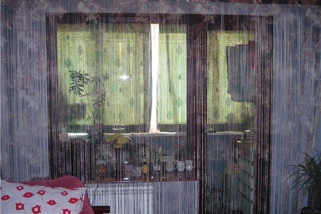 """Фото различных штор на кухнях с балконом. """" - карточка польз."""