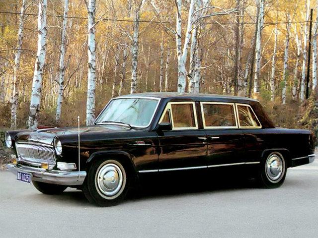 Бронированный Hongqi CA772T Limousine