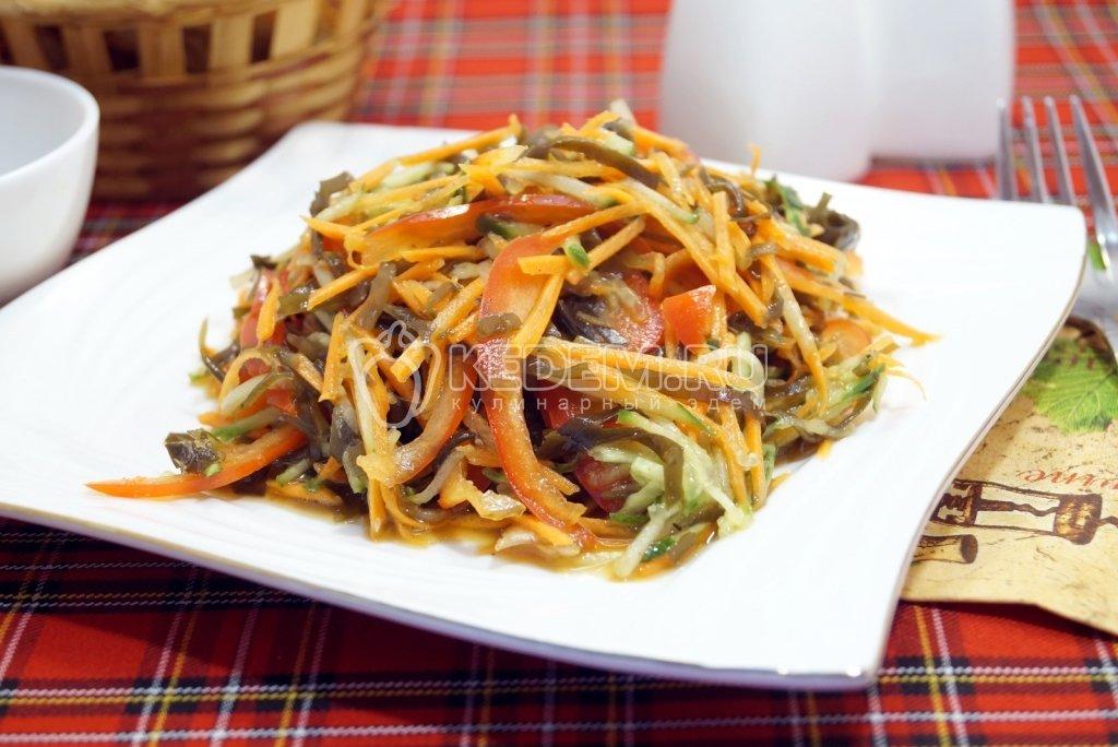 блюда с морской капустой рецепты