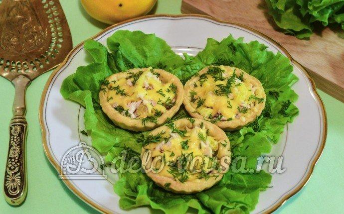 тарталетки с начинкой жульен рецепты с фото