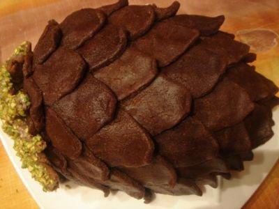 Торт «Шишка»